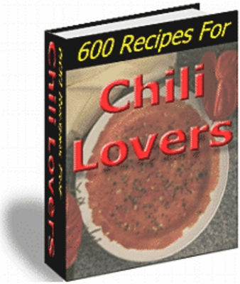 Product picture 600 Recipes For Chili Lovers