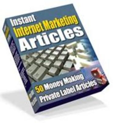 Product picture Instant Internet Marketing Articles