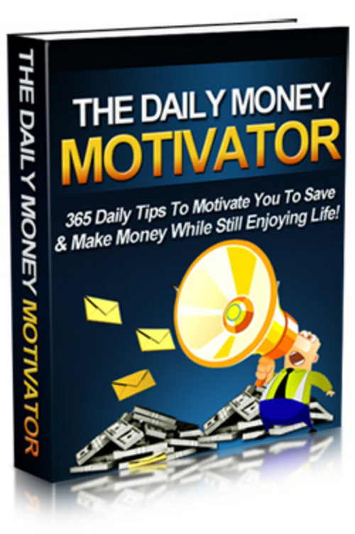Product picture The Daily Money Motivator - MRR