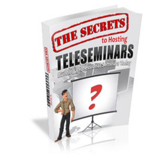 Product picture The Secrets to Hosting Teleseminars - MRR