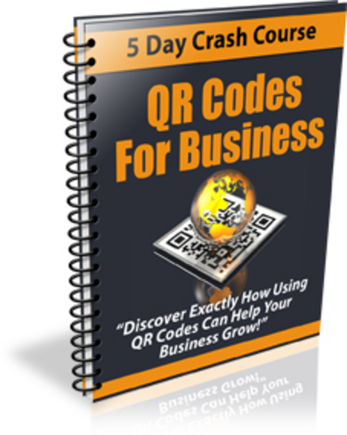 Product picture QR Codes For Business Course - PLR