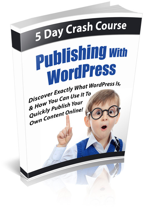 Product picture Publishing With WordPress Course - PLR