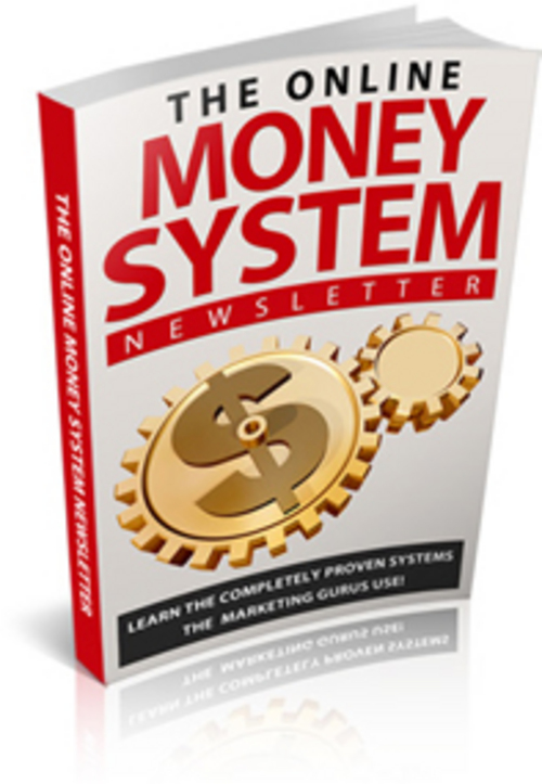 Product picture The Online Money System - PLR