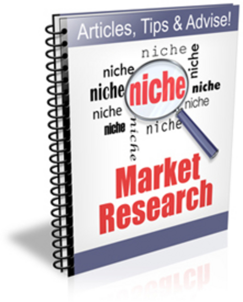 Product picture Niche Market Research  - PLR